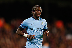 Bacary Sagna of Manchester City looks on - Photo mandatory by-line: Rogan Thomson/JMP - 07966 386802 - 06/04/2015 - SPORT - FOOTBALL - London, England - Selhurst Park - Crystal Palace v Manchester City - Barclays Premier League.