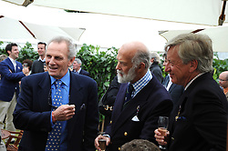 Left & centre, MARK SHAND and HRH PRINCE MICHAEL OF KENT at the Cartier Style et Luxe, the Goodwood Festival of Speed, West Sussex on 13th July 2008.<br /> <br /> NON EXCLUSIVE - WORLD RIGHTS