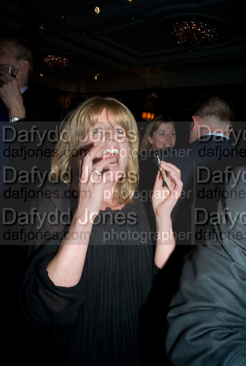 RACHEL JOHNSON The Spectator 180th Anniversary party, at the Churchill Hotel, London, 7 May 2008.  *** Local Caption *** -DO NOT ARCHIVE-© Copyright Photograph by Dafydd Jones. 248 Clapham Rd. London SW9 0PZ. Tel 0207 820 0771. www.dafjones.com.