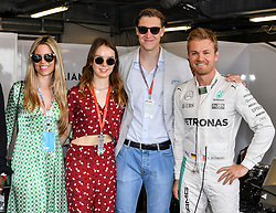 Vivian Sibold, Princess Alexandra of Hanover, Ben Sylvester, Nico Rosberg attending Monaco Grand Prix on May 24, 2018, where Keke Rosberg and his son Nico Rosberg make a 2 laps of the track with their F1 cars. Photo by Marco Piovanotto/ABACAPRESS.COM