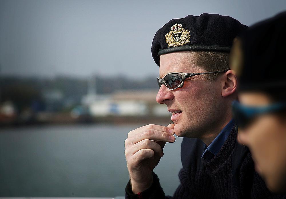Portrait of Royal Navy captain