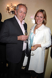 BBC Newsreaders SOPHIE RAWORTH and JEREMY BOWEN at a party to celebrate the publication of Piers Morgan's book 'Don't You Know Who I Am?' held at Paper, 68 Regent Street, London W1 on 18th April 2007.<br /><br />NON EXCLUSIVE - WORLD RIGHTS