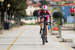 Matej Mugerli of Synergy Baku Cycling Project during prologue (2km) of 13th Istrian Spring Trophy cycling race on March 10, 2016 in Umag, Croatia. Photo by Urban Urbanc / Sportida