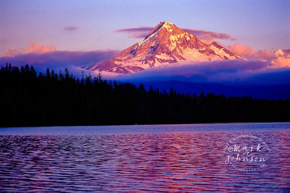 Mount Hood and Hidden Lake