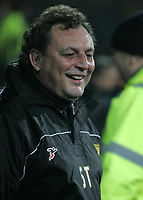 Photo: Paul Thomas.<br /> Notts County v Hereford United. Coca Cola League 2. 22/12/2006.<br /> <br /> Steve Thompson, Notts manager.
