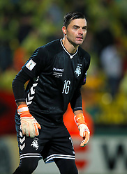 Lithuania goalkeeper Ernestas Setkus