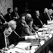 Commission members at the 9/11 Commission's Public Hearing Number 8 on 23 and 24 March 2004.