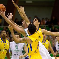 20111003: SLO, Basketball - ABA League, KK Zlatorog Lasko vs Maccabi Electra Tel-Aviv