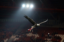 February 21, 2019 - Lisbon, Portugal - SL Benfica Eagle in action during the Europa League 2018/2019 footballl match between SL Benfica vs Galatasaray AS. (Credit Image: © David Martins/SOPA Images via ZUMA Wire)