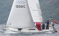 Day three of the Silvers Marine Scottish Series 2016, the largest sailing event in Scotland organised by the  Clyde Cruising Club<br /> Racing on Loch Fyne from 27th-30th May 2016<br /> <br /> 1209C, Torranan, Joe Magee, CCC, Albin Cumulus 8.5 Sloop<br /> <br /> Credit : Marc Turner / CCC<br /> For further information contact<br /> Iain Hurrel<br /> Mobile : 07766 116451<br /> Email : info@marine.blast.com<br /> <br /> For a full list of Silvers Marine Scottish Series sponsors visit http://www.clyde.org/scottish-series/sponsors/