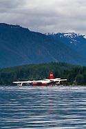 The Martin (Hawaii) Mars water bomber floating on Sproat Lake in Port Alberni, British Columbia, Canada