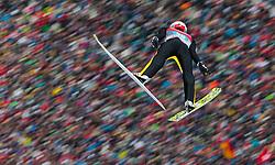 06.01.2016, Olympiaschanze, Garmisch Partenkirchen, GER, FIS Weltcup Ski Sprung, Vierschanzentournee, Bewerb, im Bild // during his Competition Jump of Four Hills Tournament of FIS Ski Jumping World Cup at the Olympiaschanze, Garmisch Partenkirchen, Germany on 2016/01/01. EXPA Pictures © 2016, PhotoCredit: EXPA/ JFK