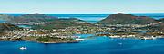 Bergsøy is an island in the municipality of Herøy in Møre og Romsdal county, Norway. The island is the location of the municipal center of Fosnavåg as well as the Eggesbønes industrial area | Bergsøy er en øy i Herøy Kommune M&R. Her finn vi blant anna kommunesenteret, Fosnavåg by og Mjølstadneset industriområde.