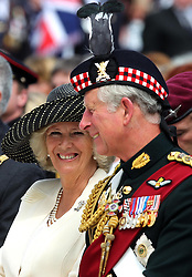File photo dated 25/06/11 of the Prince of Wales and the Duchess of Cornwall, during the Drumhead Service in Holyrood Park, Edinburgh. Charles and Camilla are celebrating their 15th wedding anniversary on Friday, after they were reunited on Monday when the 72-year-old duchess came out of a 14-day self-isolation on the Balmoral estate in Aberdeenshire.