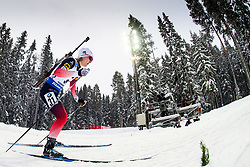 March 8, 2019 - –Stersund, Sweden - 190308 Marte Olsbu Roeiseland of Norway competes in the Women's 7.5 KM sprint during the IBU World Championships Biathlon on March 8, 2019 in Östersund..Photo: Petter Arvidson / BILDBYRÃ…N / kod PA / 92247 (Credit Image: © Petter Arvidson/Bildbyran via ZUMA Press)