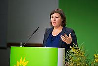 DEU, Deutschland, Germany, Berlin, 23.11.2018: Antje Kapek, Co-chair of Bündnis 90 / Die Grünen Green Group of Berlin House of Representatives. Council of the European Green Party (EGP council) at Deutsche Telekom Representative Office.