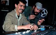 Ria Music - Khaled in his Tlemcen studio with Rachid Baba Ahmed - Algeria