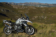 The 2015 BMW R1200GS GSTrophy motorcycle. Image by Greg Beadle