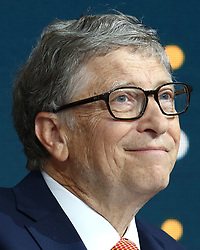 Bill Gates at the Bill and Melinda Gates foundation's Goalkeepers event at Jazz at Lincoln Center in New York.