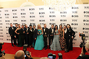 June 10, 2017-New York, New York-United States: Cast of 'Dear Evan Hansen' attend the 71st Annual Tony Awards Media Room held at Radio City on June 11, 2017 in New York City. The Tony Awards recognize achievement in Broadway productions during the 2016–17 season.  (Photo by Terrence Jennings/terrencejennings.com)
