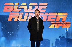 Ryan Gosling attending the Blade Runner 2049 photocall at the Corinthia Hotel, London.