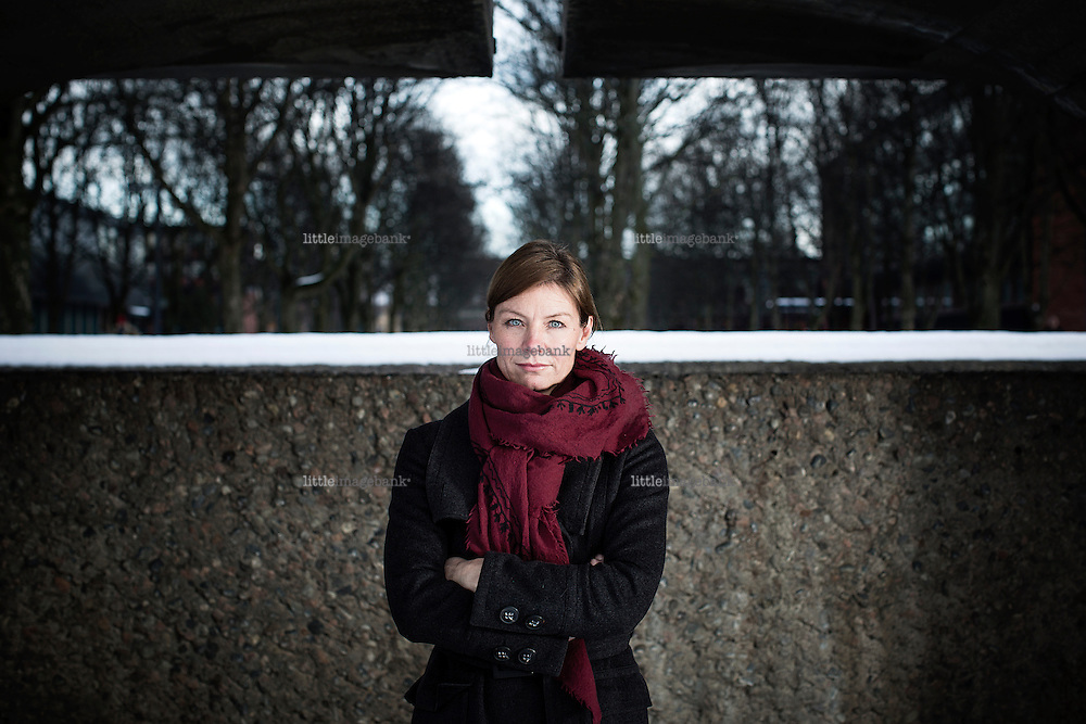 Oslo, Norge, 14.01.2015. Idéhistoriker Ellen Krefting. Foto: Christoher Olssøn