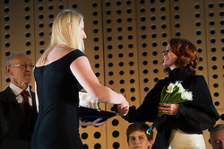 Anamria Klementina Valensek at 52th Annual Awards of Stanko Bloudek for sports achievements in Slovenia in year 2016 on February 14, 2017 in Brdo Congress Center, Brdo, Ljubljana, Slovenia.  Photo by Martin Metelko / Sportida