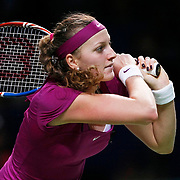 Petra Kvitova of the Czech Republic during their TEB BNP Paribas WTA Championships at Sinan Erdem Arena in Istanbul Turkey on Tuesday, 25 October 2011. Photo by TURKPIX
