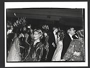 Lady Henrietta Bathurst at the Cinderella Ball. Dorchester Hotel. December 1980.Exhibition in a Box