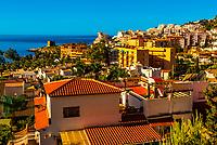 Beach resort of Almunecar, Costa Tropical, Granada Province, Andalusia, Spain.