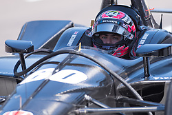 April 30, 2018 - Indianapolis, IN, U.S. - INDIANAPOLIS, IN - APRIL 30: Jack Harvey (60) in the pits during an Open Test on April 30, 2018, at the Indianapolis Motor Speedway in Indianapolis, IN. (Photo by James Black/Icon Sportswire) (Credit Image: © James Black/Icon SMI via ZUMA Press)