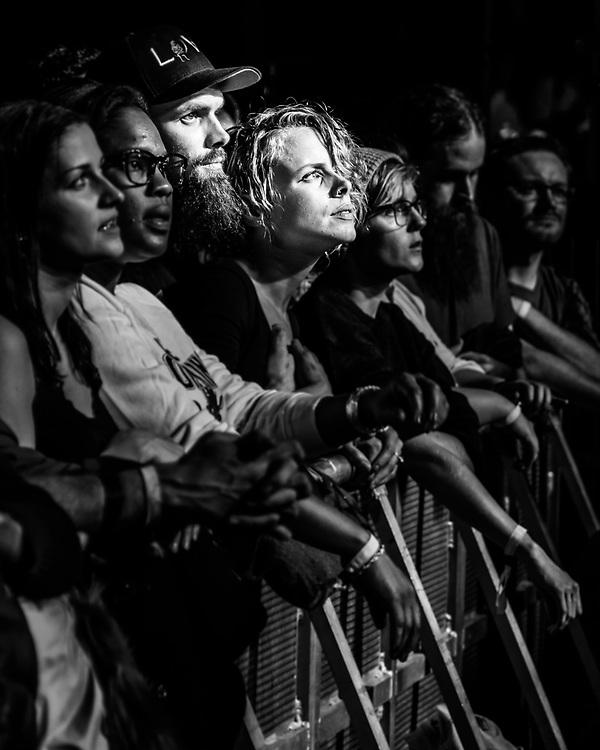 Audience of Icelandic indie-rock band Of Monsters And Men at Iceland Airwaves