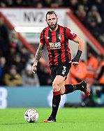 Steve Cook (3) of AFC Bournemouth during the The FA Cup match between Bournemouth and Arsenal at the Vitality Stadium, Bournemouth, England on 27 January 2020.