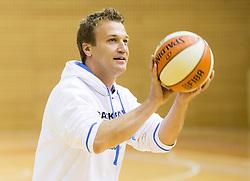 Tomo Oresnik, head coach during practice session of Slovenian Women Basketball Team, on May 14, 2014 in Arena Vitranc, Kranjska Gora, Slovenia. Photo by Vid Ponikvar / Sportida