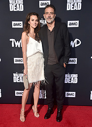 September 23, 2019, West Hollywood, California, USA: 22 September 2019 - West Hollywood, California - Hilarie Burton, Jeffrey Dean Morgan. 2019 HBO Emmy After Party held at The Pacific Design Center. Photo Credit: Birdie Thompson/AdMedia (Credit Image: © Birdie Thompson/AdMedia via ZUMA Wire)
