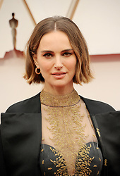 Natalie Portman at the 92nd Academy Awards held at the Dolby Theatre in Hollywood, USA on February 9, 2020.