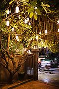 Entrance to Sugar Palm restaurant, Siem Reap