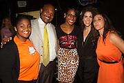 Step Up teen student, Gertz Ressler Principal, Kalen Israel, Step Up Alum, Jenni Luke, CEO, Step Up and Jamie Kogan, Managing Director, Step Up