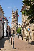 Historic church of Saint Mary, Warwick, Warwickshire, England, UK