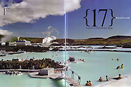 My Blue Lagoon image as featured in National Geographic Traveller Magazine.