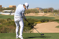 March 22, 2019 - Phoenix, AZ, U.S. - PHOENIX, AZ - MARCH 22: Sung Hyun Park hits her drive on the eighteenth hole during the second round of the Bank of Hope LPGA Golf Tournament at the Wildfire Golf Club at JW Marriott Phoenix Desert Ridge Resort & Spa, March 22, 2019 in Phoenix, Arizona (Photo by Will Powers/Icon Sportswire) (Credit Image: © Will Powers/Icon SMI via ZUMA Press)