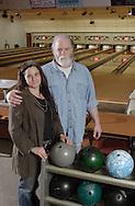 Chatham, NY - Lynn Cross and Ted Miner of Chatham Bowl on Nov. 21, 2008.