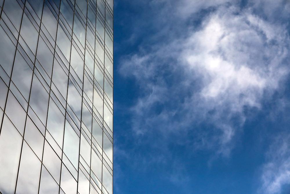 The shining facade of Boston's Millenium Tower