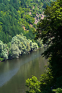 Canyon of Arda river in East Rhodope Mountains
