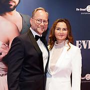NLD/Amsterdam/20181022 - Inloop premiere Evita, Ad knippels en ........