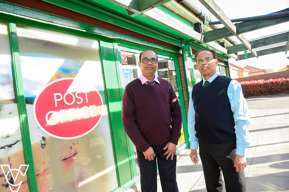Pictured is Subramaniam Nithaharan, left, and Subramaniam Nithythasan who run the new Matley Post Office<br /> <br /> Shailesh Vara MP has cut the ribbon to official opening of the brand new Matley Post Office, part of the Londis Store, Matley, Orton Brimbles, Peterborough. The store is owned by Subramaniam Nithythasan and Subramaniam Nithaharan.<br /> <br /> Date: April 5, 2019