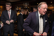 PETER MANDELSON; ANDREW PARKER BOWLES, Ralph Lauren host launch party for Nicky Haslam's book ' A Designer's Life' published by Jacqui Small. Ralph Lauren, 1 Bond St. London. 19 November 2014