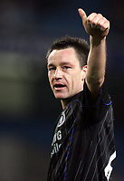 Photo: Paul Thomas.<br /> Manchester City v Chelsea. The Barclays Premiership. 14/03/2007.<br /> <br /> John Terry, Captain of Chelsea gives their fans the thumbs up.