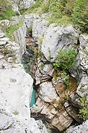 Soča river valley and gorge, Slovenia © Rudolf Abraham