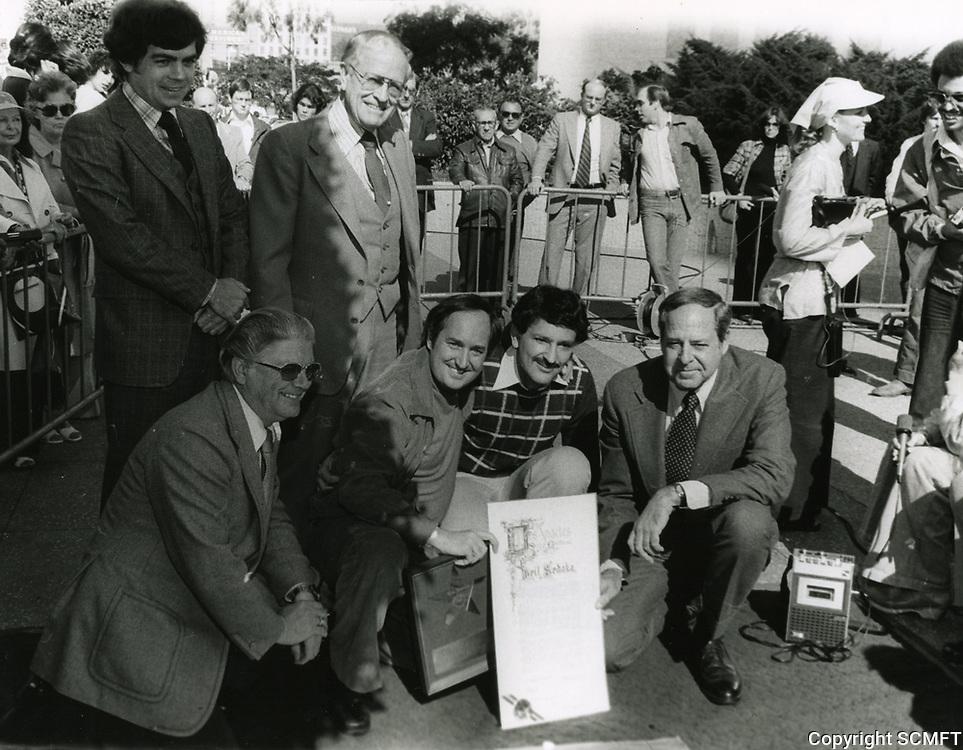 1978 Neil Sedaka's Walk of Fame ceremony